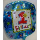 Balloon - Birthday - 1st - Boy