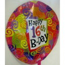 Balloon - Birthday - 16th