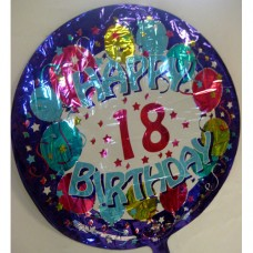 Balloon - Birthday - 18th