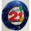 Balloon - Birthday - 21st
