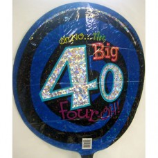 Balloon - Birthday - 40th