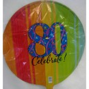 Balloon - Birthday - 80th