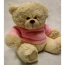 Bear with Pink Sweater
